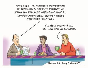 Terry Wise, KY Tax Fraud