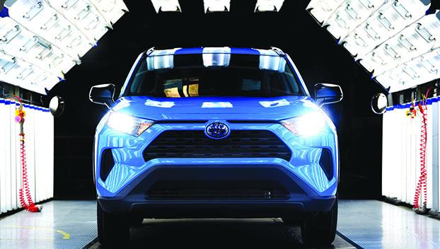 Toyota Kentucky rolls off 13 millionth vehicle - Jessamine ...