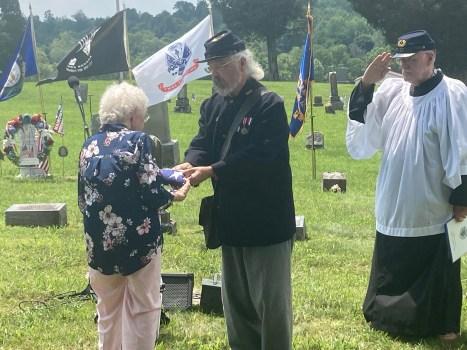 Civil War veteran's gravestone dedicated - Jessamine ...